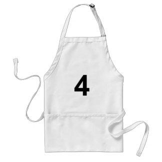 4 - Nr. vier Schürze