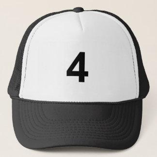 4 - Nr. vier Truckerkappe