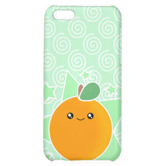 4 Orangen-Frucht Kawaii iPhone 5C Schale