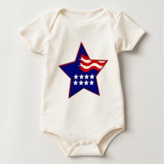 4. von Juli-Clipart Baby Strampler