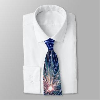 4. von Juli-Feuerwerken im blauen Krawatte