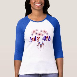 4. von Juli-T-Shirt T-Shirt