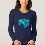 4D Hypercube, Hyperwürfel, Tesserakt, Tshirts