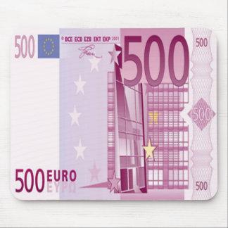 500-Euro - Schein Mausunterlage Mauspad