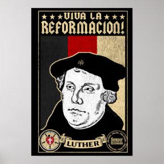 500th Jahrestags-Verbesserung Luther Plakat