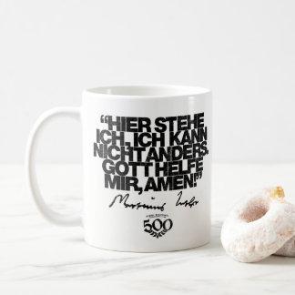 500th Jahrestags-Verbesserung Luther Zitat-Tasse Kaffeetasse