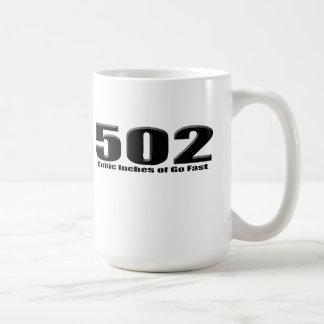 502 Chevy große Block-Kiste Kaffeetasse