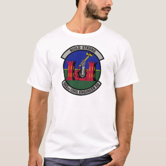 502nd Ziviles Ingenieur-Geschwader - Gestalt stark T-Shirt