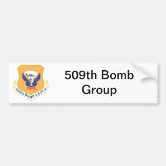 509th Bomben-Gruppen-Insignien Autoaufkleber