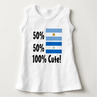 50% Argentenian 50% Nicaraguaner 100% niedlich Kleid