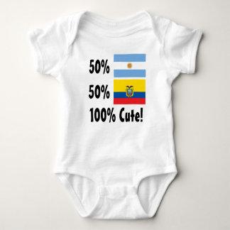 50% Argentinier50% Ecuadorian 100% niedlich Baby Strampler