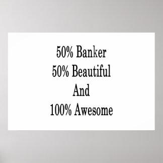 50 Banker 50 schön und 100 fantastisch Poster