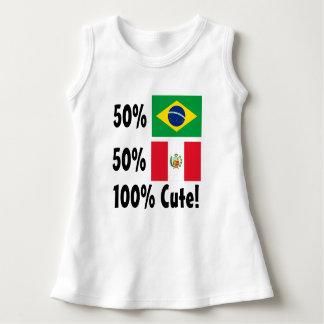 50% Brasilianer 50% Peru 100% niedlich Kleid