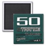 50 D. Trance Tunes, Magnet Vol. 1 Kühlschrankmagnete