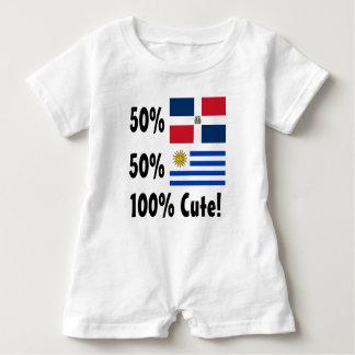 50% Dominikaner50% Uruguayan 100% niedlich Baby Strampler