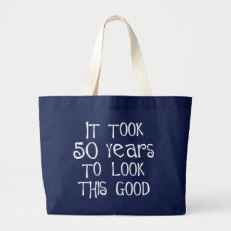 50. Geburtstag, 50 Jahre, zum dieses zu schauen Jumbo Stoffbeutel