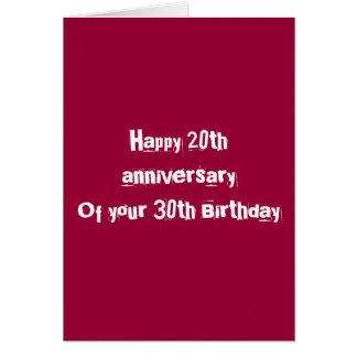 50. Geburtstag Karte