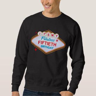 50. Geburtstag Las Vegass Sweatshirt