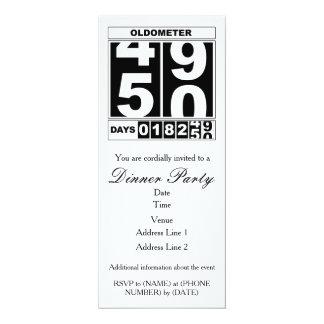 50. Geburtstag Oldometer Einladung