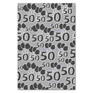 50. Geburtstag Seidenpapier