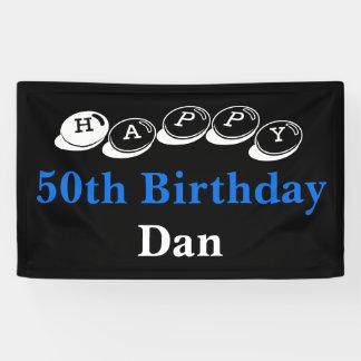 50. Geburtstags-Fahnen-Verkauf