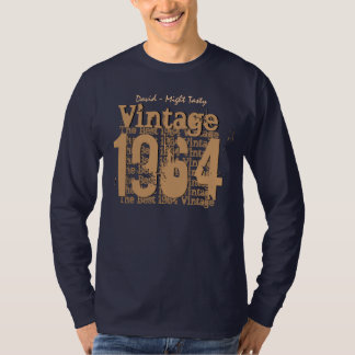 50. Geburtstags-Geschenk bestes 1964 Vintages V010 T-Shirt