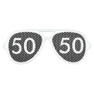 50. Geburtstags-Neuheit Partybrille