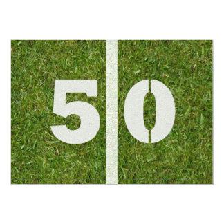 50. Geburtstags-Party! 12,7 X 17,8 Cm Einladungskarte