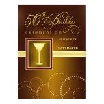 50. Geburtstags-Party Einladungen - Zeitgenosse