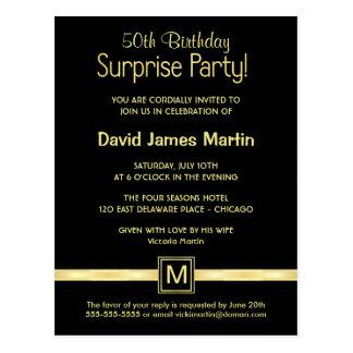 50 Geburtstags-Überraschungs-Party -