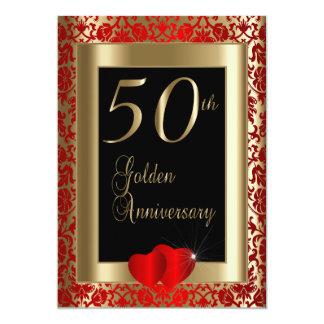 50. Goldener Hochzeitstag Karte