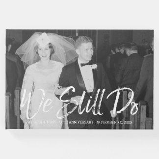 50. Hochzeits-Jahrestag mit Foto - wir tun noch Gästebuch