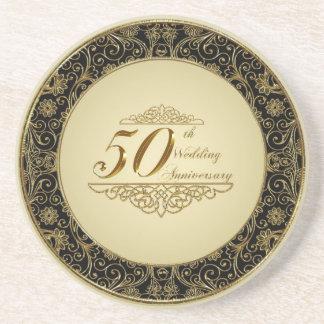 50. Hochzeits-Jahrestags-Untersetzer Untersatz