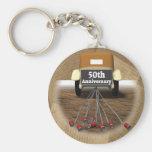 50. Hochzeitstag-Geschenke Schlüsselanhänger
