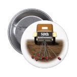 50. Hochzeitstag-Knopf Button