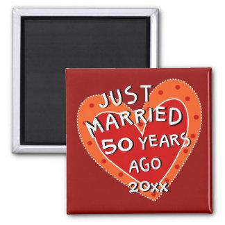 50. Jahrestag oder irgendein wunderliches Quadratischer Magnet