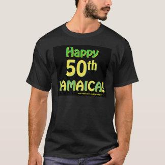 50. Jahrestags-T-Shirts Jamaikas T-Shirt