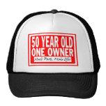 50 Jährig-Hut Baseball Cap