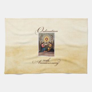 50. Klassifikations-Jahrestags-Engel am Altar Handtuch