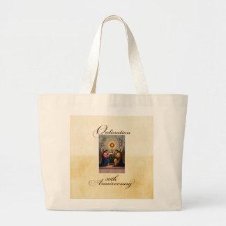 50. Klassifikations-Jahrestags-Engel am Altar Jumbo Stoffbeutel