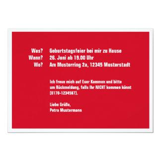 50 na und 12,7 x 17,8 cm einladungskarte