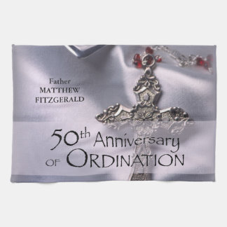 50. Name-Klassifikations-JahrestagChalice Handtuch