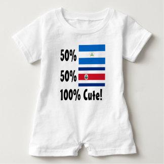 50% Nicaraguaner50% Costa Rican 100% niedlich Baby Strampler