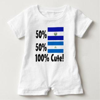 50% Nicaraguaner 50% Salvadorianer 100% niedlich Baby Strampler