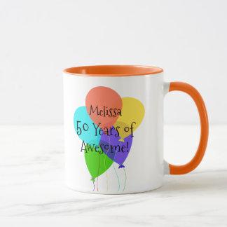50. oder irgendein Alters-personalisiertes Tasse