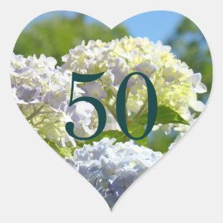 50 Porto-Briefmarken Zahl fünfzig Geburtstagsaufkl