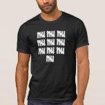 50 Tally-Kennzeichen inspiriertes 50. T Shirt