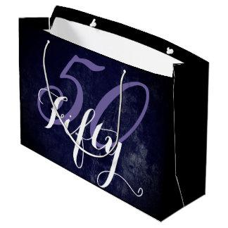 50 u. fabelhaftes! Lila weiße Flieder-50. Große Geschenktüte