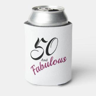 50 und fabelhafte Dose cooler. Weiß, schwarz und Dosenkühler