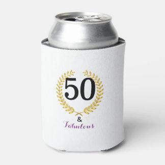 50 und fabelhaftes Geburtstags-Party können cooler Dosenkühler